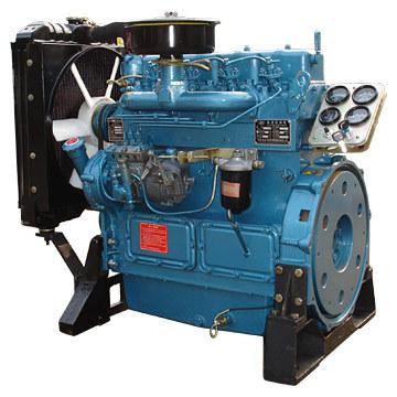 4 motores baratos do cilindro 30KW com baixo consumo de combustível