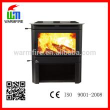 Model WM201-2500 high effiency black steel 25kw wood stove
