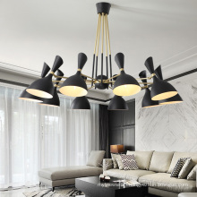 wrought iron chandelier decorative living room ceiling light