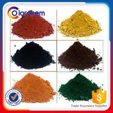 pigmento de óxido de ferro
