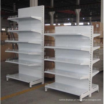 Prateleira de armazenamento Standstore de exibição de gôndola