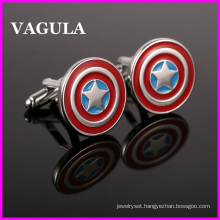 VAGULA Quality Enamel Cartoon Cufflinks (HL10136)