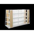 Supermarket Steel and Wooden Shelf