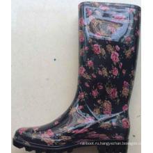 пластиковые ботинки студня женщин пластиковая Садовая обувь