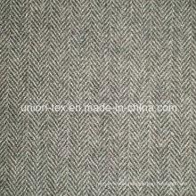 Wool Fabric with Herringbone (ART#UW084)