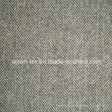 Шерстяная ткань с елочкой (ART # UW084)