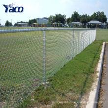 3.7mm fil 50x50mm 75x75mm trou chaîne lien clôture par sqm poids