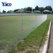 3.7mm wire 50x50mm 75x75mm hole chain link fence per sqm weight