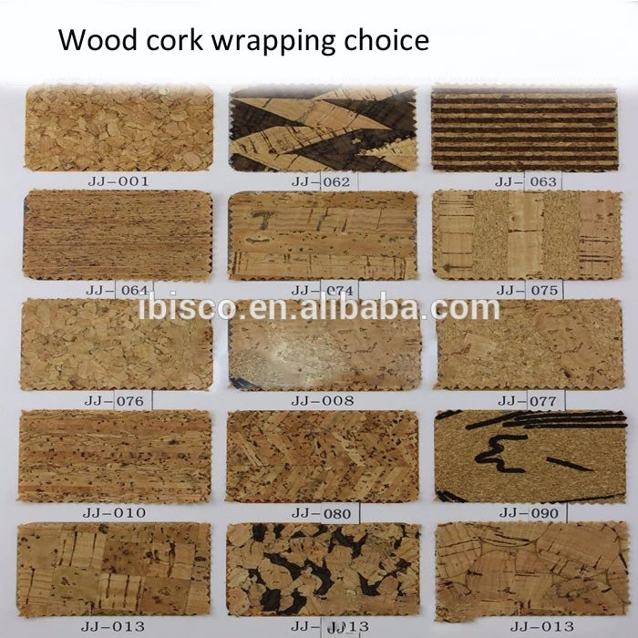 Wood Cork Wrapping Choice
