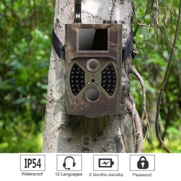 НС-350М Открытый Охота камера MMS GSM с ловушкой для животных Скаутинг инфракрасная камера Дикий