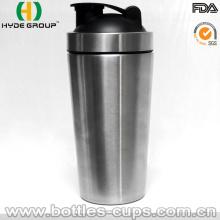 700ml Single Wall Edelstahl Shaker Wasserflasche (HDP-0599)