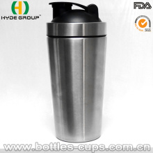 Botella de agua de la coctelera del acero inoxidable de la sola capa 700ml (HDP-0599)