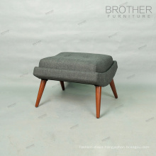 Luxury ottoman furniture tufted ottoman stool chair