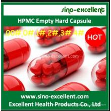 HPMC Empty Hard Capsule Clear et autres couleurs