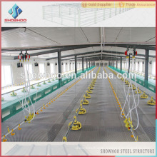 Export to Philippines Professional Design Automatic Commercial Prefabricated Light Steel Structure Chicken Houses For Sale