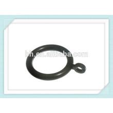 50 черных пластиковых занавесок 38 мм для установки на 35-мм полюс