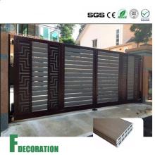Tablero compuesto de madera WPC decking plástico al aire libre del escudo
