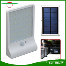 2.5W Waterproof Outdoor Garden Lamp Ultrathin 36LED Solar Motion Sensor Dim Wall LED Light for Garden Yard Garage Path