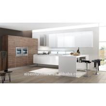 Armário de cozinha de estilo misto para mercado europeu