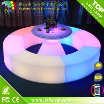 Changement de couleur des meubles de bar utilisés pour Dubaï