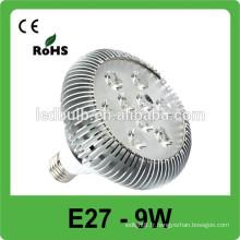 Conception moderne Garantie 3 ans Spot de prix usine 9w e27 lampe LED