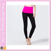 High Quality Sublimation High Elastic Aerobics Ladies Slim Yoga Pants