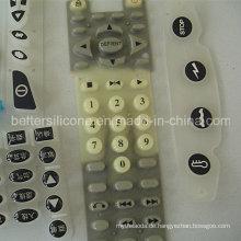 Silikon-Kautschuk-Epoxy-beschichtetes Tastenfeld für Elektronik