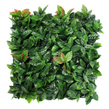 12 pieces 50 x 50 cm Best selling outdoor customized aritificial grass wall for balcony