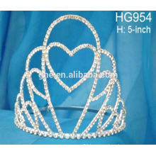 custom crowns tiaras elsa princess tiara rhinestone tiaras aung crown caps hats industrial ltd
