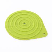 feuille de quart de tapis de cuisson en silicone