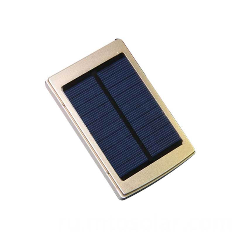 plastic mini solar lighting power bank
