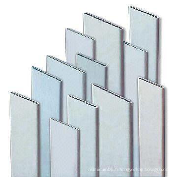 3003/3102 Extrusion de tubes en aluminium à micro-plat Multi Multiport pour échangeurs de chaleur