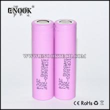 Samsung26f 18650 2600 mAh batteri för E-cigs