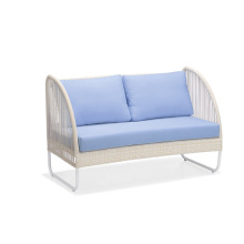 PE Rattan Outdoor Furniture Loveseats Soffa