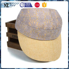 Latest product custom design animal print sun visor cap with good price