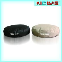 Nouveau design, confort, coussin pour animaux, sac de haricot, forme ronde, lit d'animal domestique