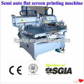 vacuum semi automatic screen printer