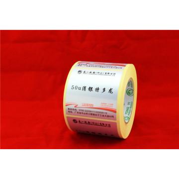 Material de película autoadhesiva de PVC