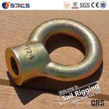 L'acier au carbone a forgé l'écrou galvanisé JIS1169 d'oeil d'oeil