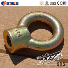 Gota de aço carbono forjado galvanizado porca JIS1169