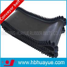 100-600n / mm, ceinture en caoutchouc de paroi latérale corrigée par toile de tissu d'EP