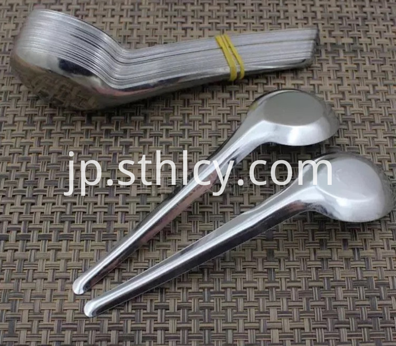 stainless steel high quality soup spoon