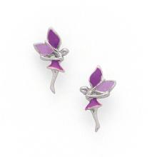 Fabrik Preise Emaille Ohrringe 925 Silber Schmuck Zubehör (KE3002)