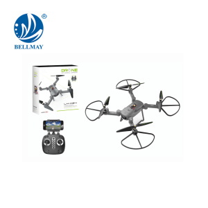 Foldable Phone Wifi Control Drone With HD Camera