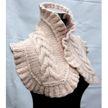 Made to Order Hand knitted Scarf Shawl Made in China