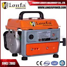 450W 220V 50Hz zwei streichender kampierender kleiner Benzin-Generator für Verkauf