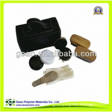 Class Shoe Care Kit with Nice Leather Box