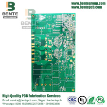 Multilayer PCB 6 Camadas PCB 1.6mm ± 0.1mm FR4 Tg170 ENIG 1u ""