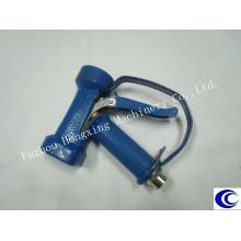 Pistolet de lavage bleu avec archet (protège-détente)