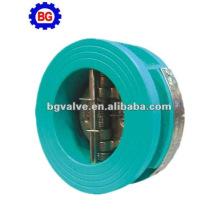 placa de hierro fundido oblea comprobar válvula dual